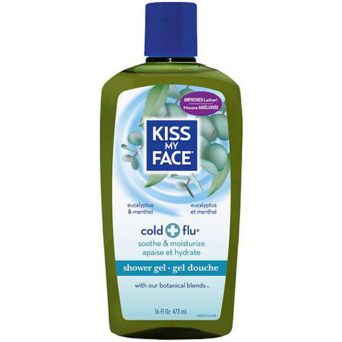Cold & Flu Shower Gel & Foaming Bath 16 oz, from Kiss My Face