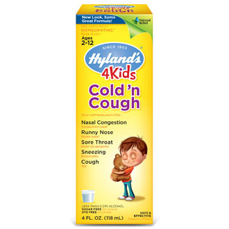 Cold 'n Cough 4 Kids, 4 oz, Hylands (Hyland's)