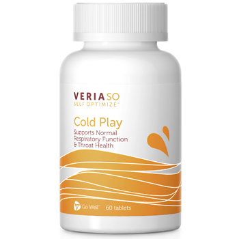 Veria SO Self Optimize Cold Play, Cold & Flu Support, 60 Tablets