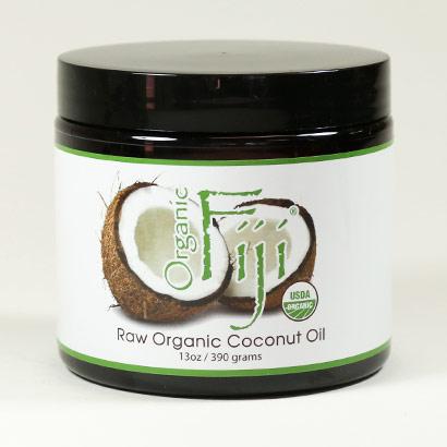 Cold Pressed Cooking Oil, Organic Extra Virgin Coconut Oil, 13 oz, Organic Fiji