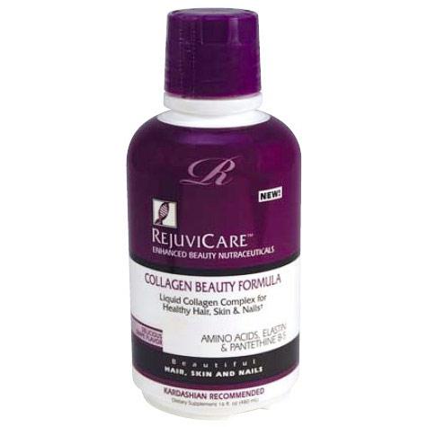Collagen Beauty Formula Liquid, Grape Flavor, 16 oz, RejuviCare