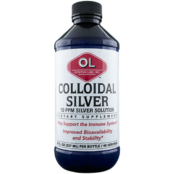 Colloidal Silver, 8 oz, Olympian Labs