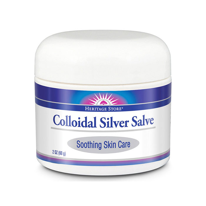 Colloidal Silver Salve, 2 oz, Heritage Products