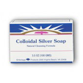 Colloidal Silver Soap, 3.5 oz, Heritage Products