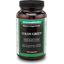 Colon Green Cleansing Formula 150 caps, Futurebiotics