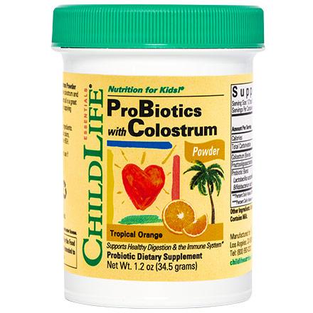 ChildLife Probiotics with Colostrum Powder For Children, 1.7 oz (50 g)