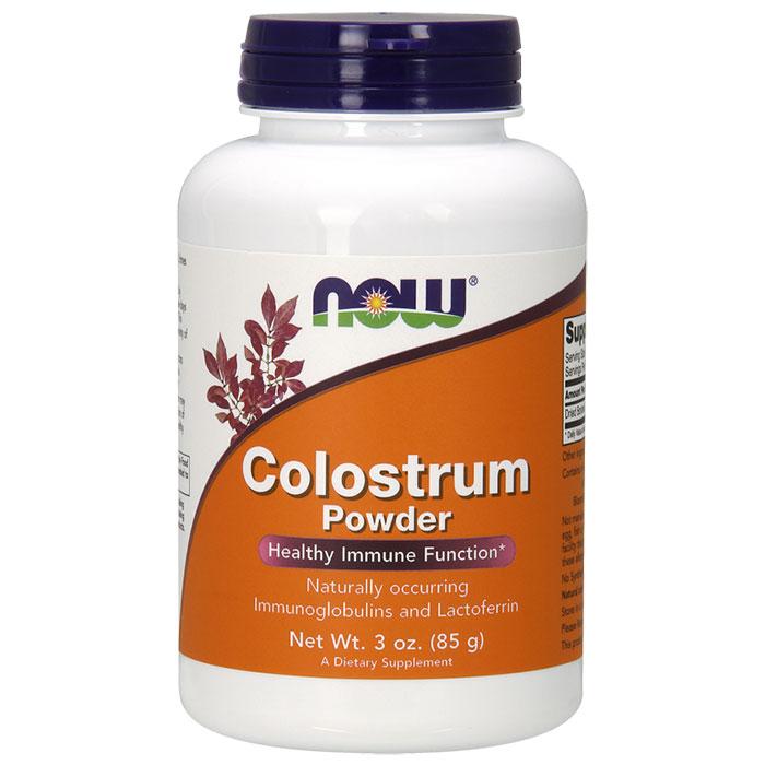 Colostrum Powder Pure, 3 oz, NOW Foods