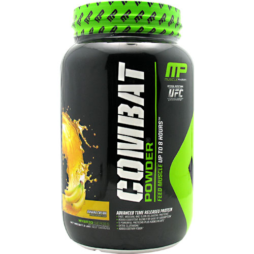 Combat Powder, Advanced Time Release Protein, 2 lb, Muscle Pharm