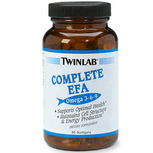Complete EFA (Omega 3-6-9) 90 softgels from Twinlab