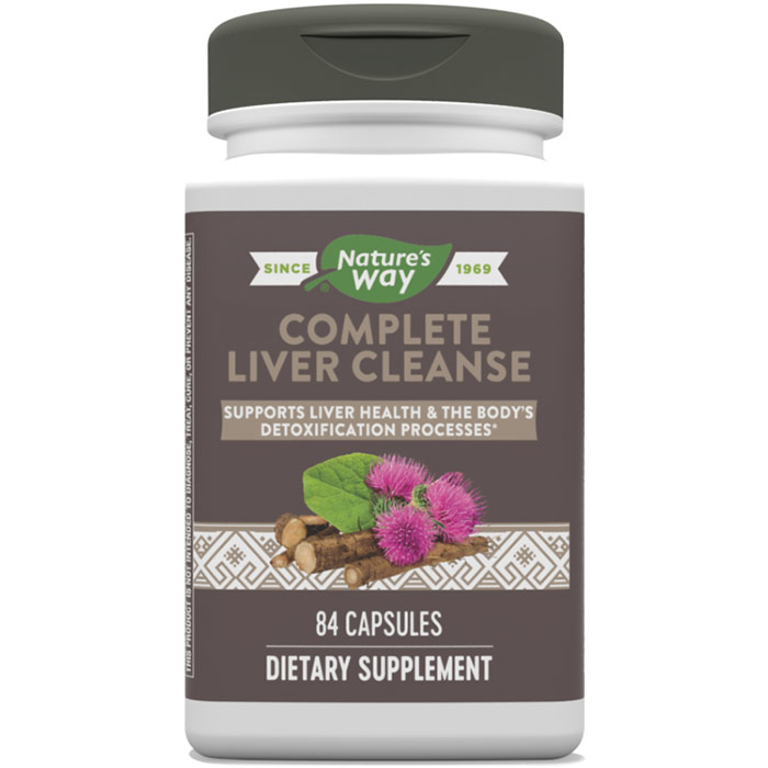 Complete Liver Cleanse, 84 Veg Capsules, Enzymatic Therapy
