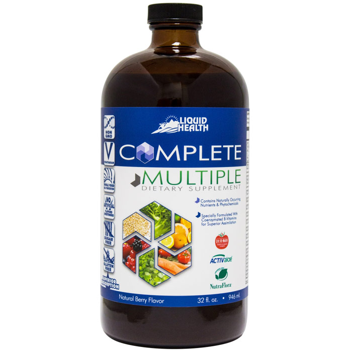 Complete Multiple Liquid Supplement, 32 oz, Liquid Health