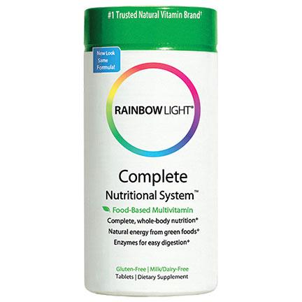 Complete Nutritional System, Food-Based Multivitamin, 180 Tablets, Rainbow Light