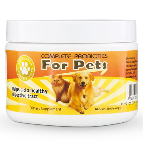 Complete Probiotics Powder for Pets, 90 g, Dr. Mercola