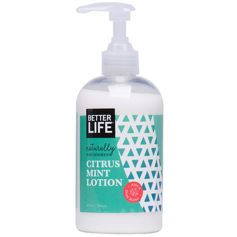 Cool Calm Collected, Natural Hand & Body Lotion, Citrus Mint, 12 oz, Better Life Green Cleaning