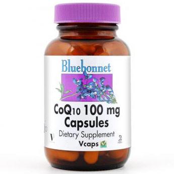 CoQ10 100 mg Capsules, 60 Vcaps, Bluebonnet Nutrition