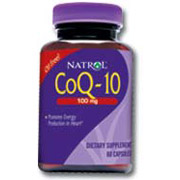 CoQ10 (CoEnzyme Q-10) 100mg 30 caps from Natrol