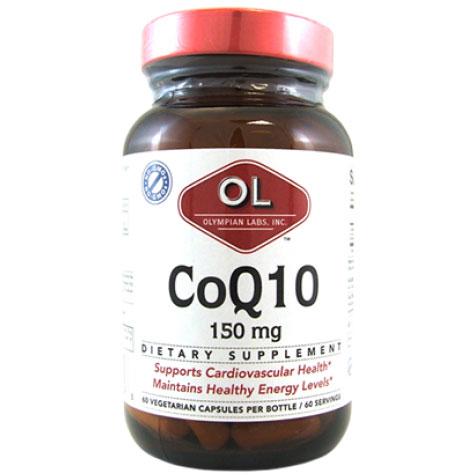 CoQ10 150 mg, 60 Veggie Caps, Olympian Labs