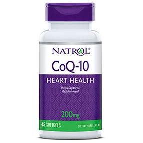 CoQ10 200 mg, 45 softgels from Natrol