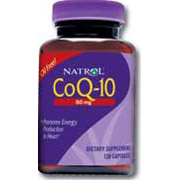 CoQ10 (CoEnzyme Q-10) 50mg 60 caps from Natrol