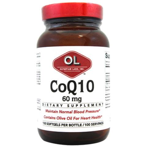 CoQ10 60 mg, 100 Softgels, Olympian Labs
