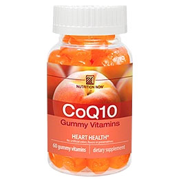 Chewable CoQ10 - Adult Gummy Vitamin, 60 Chews, Nutrition Now