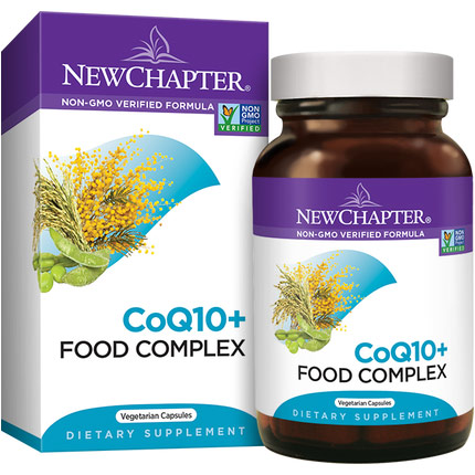CoQ10+ Food Complex, 60 Vcaps, New Chapter
