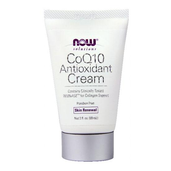 CoQ10 Antioxidant Cream, 2 oz, NOW Foods