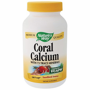 Coral Calcium 200mg 180 vegicaps from Natures Way