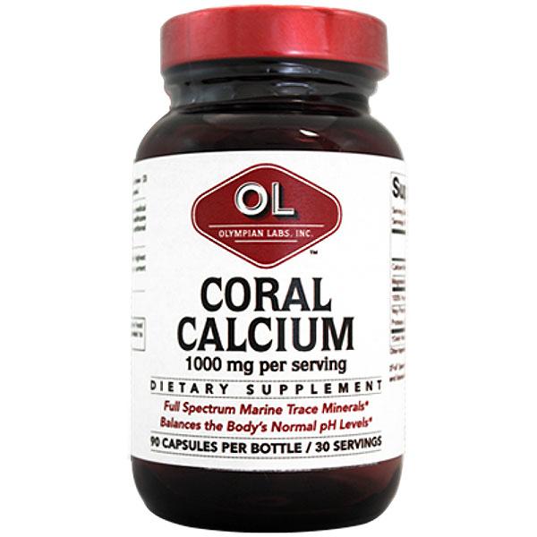Coral Calcium, 90 Capsules, Olympian Labs