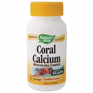 Coral Calcium 200mg 90 vegicaps from Natures Way