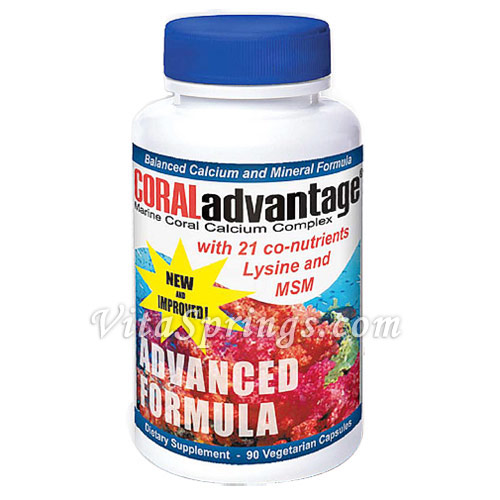 CORALadvantage Advanced Formula, 90 Veggie Caps, Advanced Nutritional Innovations - CLICK HERE TO LEARN MORE