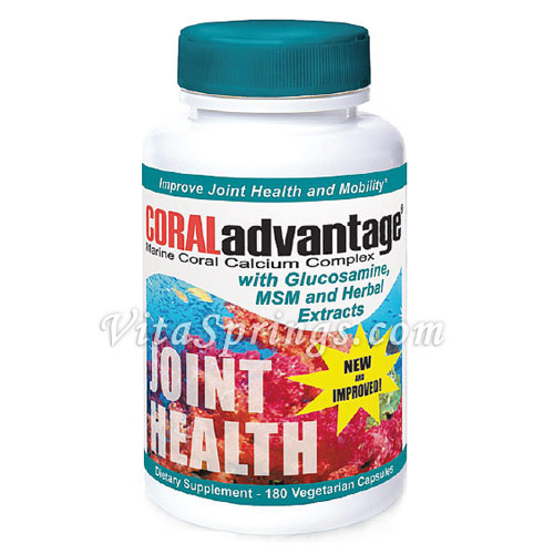 CORALadvantage Joint Health, 180 Veggie Caps, Advanced Nutritional Innovations - CLICK HERE TO LEARN MORE