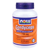 Cordyceps 750 mg, 90 Vcaps, NOW Foods