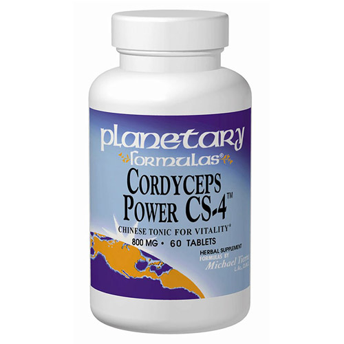 Cordyceps Sinensis Power CS-4 (Cordyceps Sinensis Complex) 60 tabs, Planetary Herbals