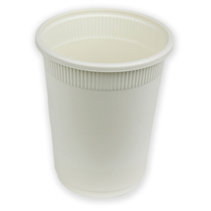 Corn Starch - Cup 16 oz Natural, 50 Cups, EcoSouLife