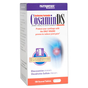 Cosamin DS, Joint Health Supplement, 150 Tablets, Nutramax Labs