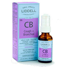 Image of Liddell Cough + Bronchial Homeopathic Spray, 1 oz