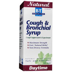 Cough & Bronchial Syrup (Daytime), 8 oz, Boericke & Tafel Homeopathic