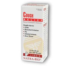 Cough Relief 1 fl oz, NatraBio (Natra-Bio)