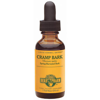 Cramp Bark Extract Liquid, 1 oz, Herb Pharm