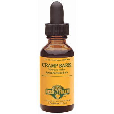 Cramp Bark Extract Liquid, 4 oz, Herb Pharm