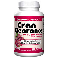 Cran Clearance, Cranberry Concentrate 680 mg 100 caps, Jarrow Formulas