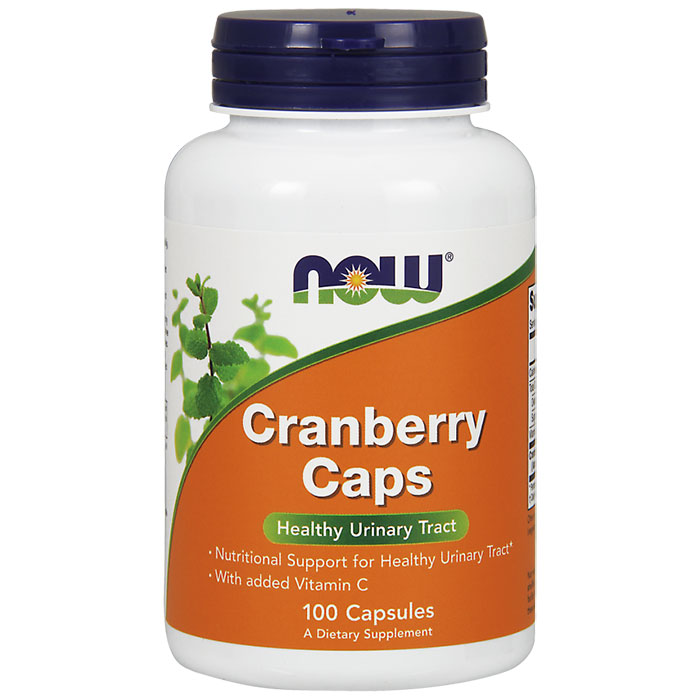 Cranberry Concentrate 100 Caps, NOW Foods