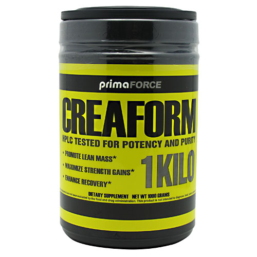 CreaForm Creatine Monohydrate, 1000 g, PrimaForce