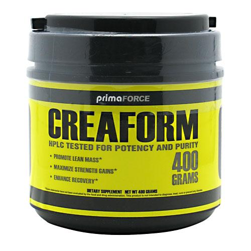 CreaForm Creatine Monohydrate, 400 g, PrimaForce