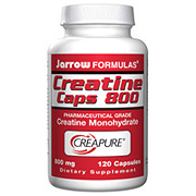 Creatine Caps 800 mg 120 capsules, Jarrow Formulas