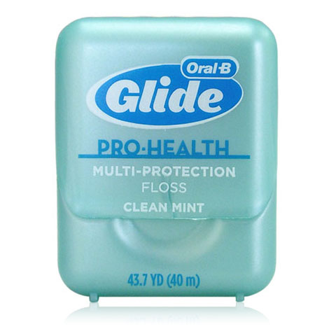 Oral-B Glide Pro-Health Dental Floss Multi-Protection, Clean Mint, 43.7 yd x 6 pc