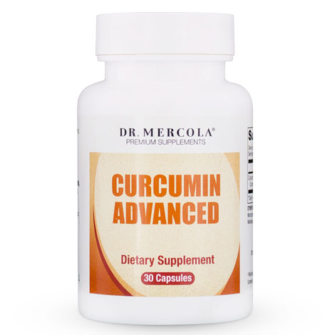Curcumin Advanced, 30 Capsules, Dr. Mercola