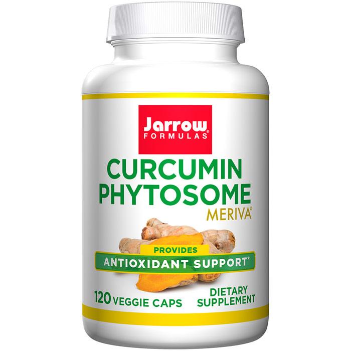 Curcumin Phytosome, Meriva 500 mg, 120 Vegetarian Capsules, Jarrow Formulas