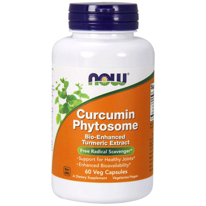 Curcumin Phytosome 500 mg, 60 Vegetarian Capsules, NOW Foods
